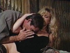 Lascivious husband fucks his attractive wife