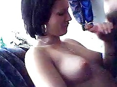 It's definitely a hawt turn on when your girlfriend pulls out the cock out of even asking and starts to slobber on it. Watch this bitch do exactly that and add a little smth extra by letting him film her. She's the hotty of everyone's dreams!