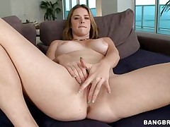 Large butt Sierra fingers her shaved fur pie for us, that babe spreads her thighs as wide as that babe can and gives her best for our pleasure. The fellow comes in to help and continues her fingering then offers her mouth his hard penis so that babe can suck it with pleasure, just the way we enjoy watching her. A big hard cock is all that babe desires and sucking it is solely the begging cuz now that babe rides it deep and takes full advantage of each hard inch that babe can get.