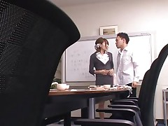 She tries to give him a good education but she's a bit harsh sometimes and that makes this guy angry about her. This time Rio really screwed him up and the guy is not going to take it. He grabs her, ties her hands and takes off those panties. Looks like miss Rio is about to receive a rough fuck for her attitude