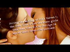 Various hot clips of hot lesbians chicks in fleshly kissing