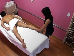 Have A Fun watching sex during massage in all immodest details
