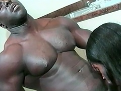 This sexy black honey loves her man to be big and black. See this...