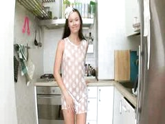 Evelina honeys kitchen cum on the unit