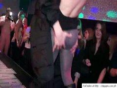Slutty women relax on dance night party