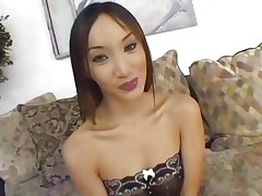 Asian Katsumi is banged by a group of hawt dicks