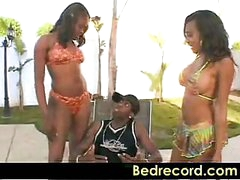 Big Ass Pool Party Lacey DuValle and Nyeema Knoxxx part 1