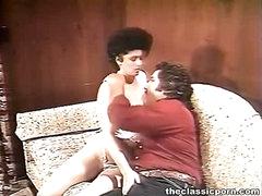 Kinky pair cosy sofa fucking