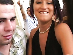 Wonderful-looking youthful sex party scene will drive u mad
