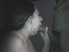 Amateur couple taping their sex on camera in a pure darksome room. This babe sucks, licks, jerks and squeezes her husband's penis as this babe awaits her sweet and sticky spunk flow