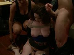 Natural breasty girlfriend