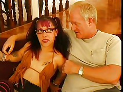 As they say big things come in tiny packages and this tiny woman is indeed packing a punch. She is just about to knock out this big guy with her charm, allure and her mouth. U can see that he is already moaning and this babe is hardly getting started with him, as this babe is giving an incredible blowjob.