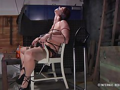 This is art, and as u can watch in the 1st scene we have a brown haired doxy tied on a char and punished with electric shocks on her pussy. Then we get to watch the same bitch and one more one tied in position 69 on the bed. If it excites u then why not watch it, it surely deserves your time and attention!