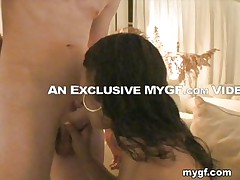 How well a fellow fucks quite a lot on the woman. As u can see that hot gal with long hair will prove it. She takes the jock in her throat and her wet and hot throat drives the jock totally crazy. He just climbs on her for some really hard fucking in different positions until he is satisfied.