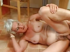 Insatiable Granny Just Likes Penis !