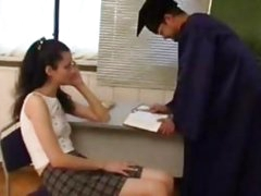 Pervert Teacher Abuse His Pretty Student
