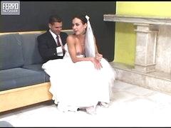 Calena mindblowing ladyboy bride