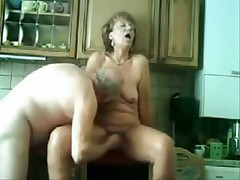 Old pair still like to have loads of fun in their sex life which u can see in this private porn movie. That babe gets licked and drilled in her old twat while he pleasures his old cock.