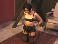Chick becomes tractable and the ropes leave her vulnerable