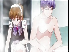 It's hard to find a good maid those days, most of 'em are just cute and clumsy. This one for sample is as pretty as stupid and her corporalist got sick and tired so he's going to use her for smth else. After this guy putted her to rub his soapy cock the guy gives her a hard fuck from behind, showing that she's good for something.