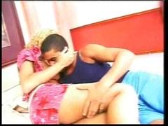Shemale and guy having pleasure