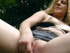 Enjoyment with German hottie in the woods