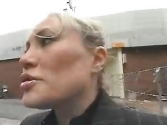 Young Stud Tempt A Breasty Mamma In The Street And Fuck Her