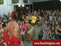 CFNM stripper cock games with ravenous ladies