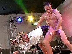 Club owner demands a undress show