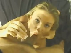 This whore's long skilful tongue gives man with camera in his hands lots of incredible sexy feelings.