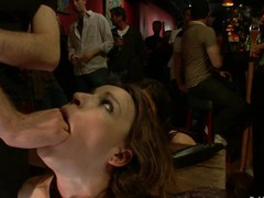 Hot pretty angel fucked and dominated in real bondage!