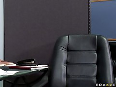 See this sexy sweetheart entering her bosses office asking for some money. Look at her big bra buddies and her soaked lips engulfing that big cock. Suddenly his wife comes in and this chab freaks out but the horny floozy still doesn't desire to leave. Is this babe going to acquire some extra money?