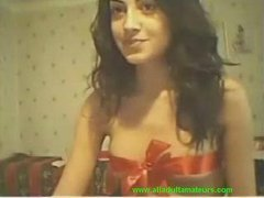 Cam: (no sound) College sweet girl on livecam for her bf