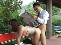 Hungry dude could not make no doubt of his luck as that guy pounds a hawt chick