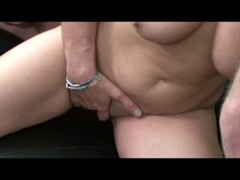 Horny breasty golden-haired morgan reigns gets drilled