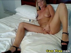 Hot Blonde Deep Masturbation HD