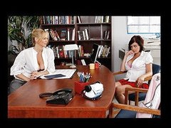 Katie's called in to Ms. Ann's office over rumors that Katie's been spreading around school. Turns out that Katie's jealous that Ms. Ann's been flirting with other angels but not her. Katie's at no time been with a beauty in advance of, and desires Ms. Ann to prove that Katie's as hawt as the other beauties in class. Ms. Ann shows her one time and for all that Katie makes for a very hawt lesbo!