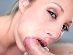 College Porn Try-out Ends With Cum Swallow