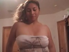 Charming Latin cocksucker is longing for loads of man's cum, getting his hard shlong sucked and licked off.