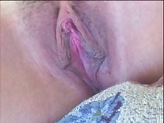 Sexy fuckable babe has nice pink impure cleft lips and a hawt clit. She moans as her impure cleft lips and clitoris get licked and sucked on close up. Makes you hot!