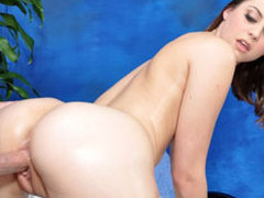 Brooke seduced and fucked hard by her massage therapist