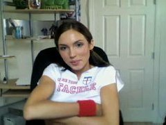 Legal age teenager Livecam Angel at home