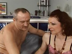 hawt and hairy  mature fuck anal assfuck troia takes hard cock in the gazoo all the way tits